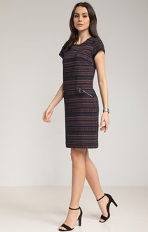 ROBE MAILLE JACQUARD