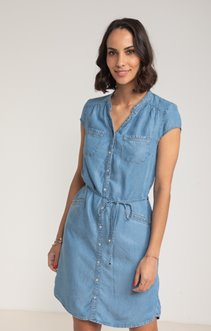 Robe Tencel Denim Détente