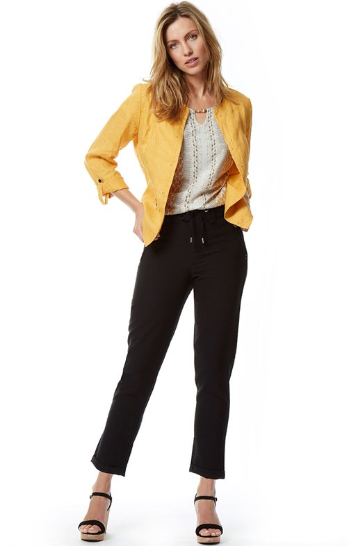 Pantalon 7/8 Détente Elastique Dos