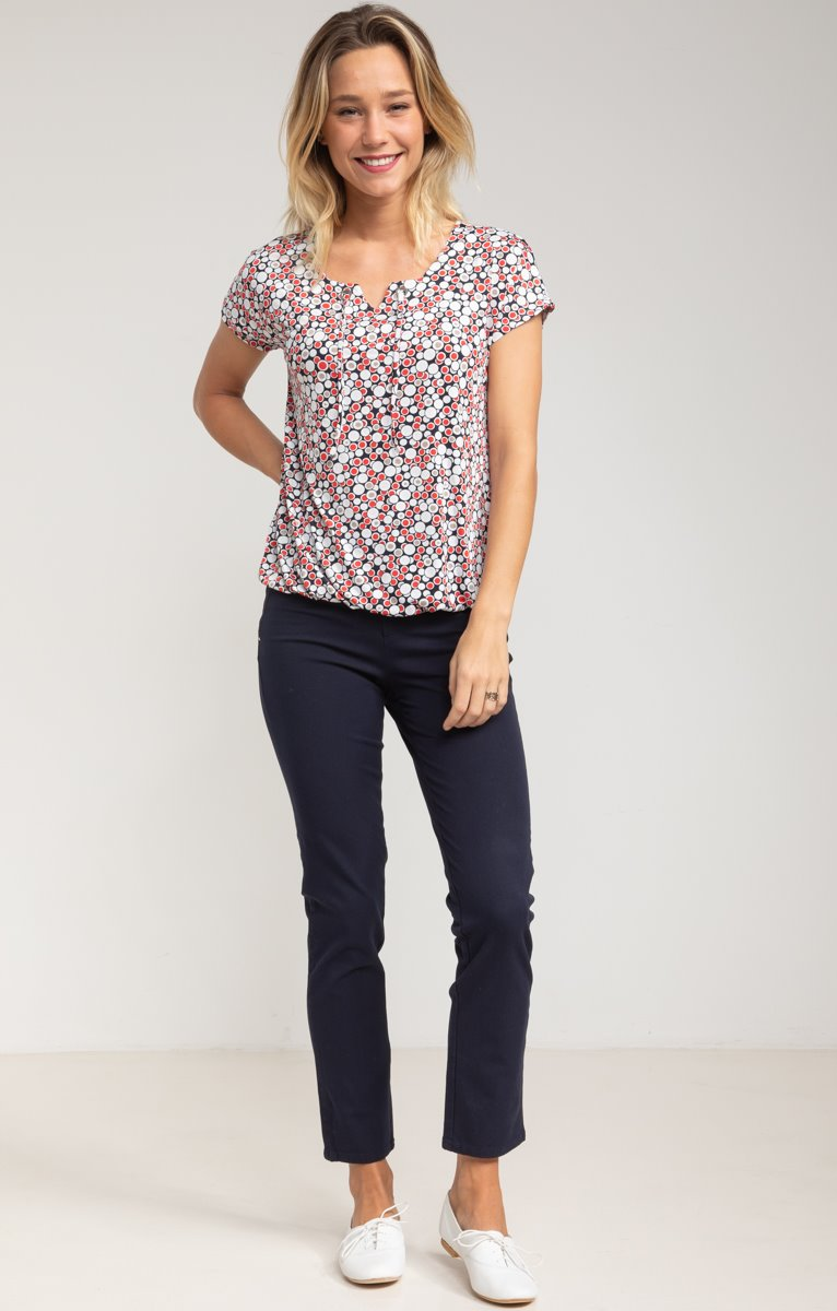Pantalon Casual Chic