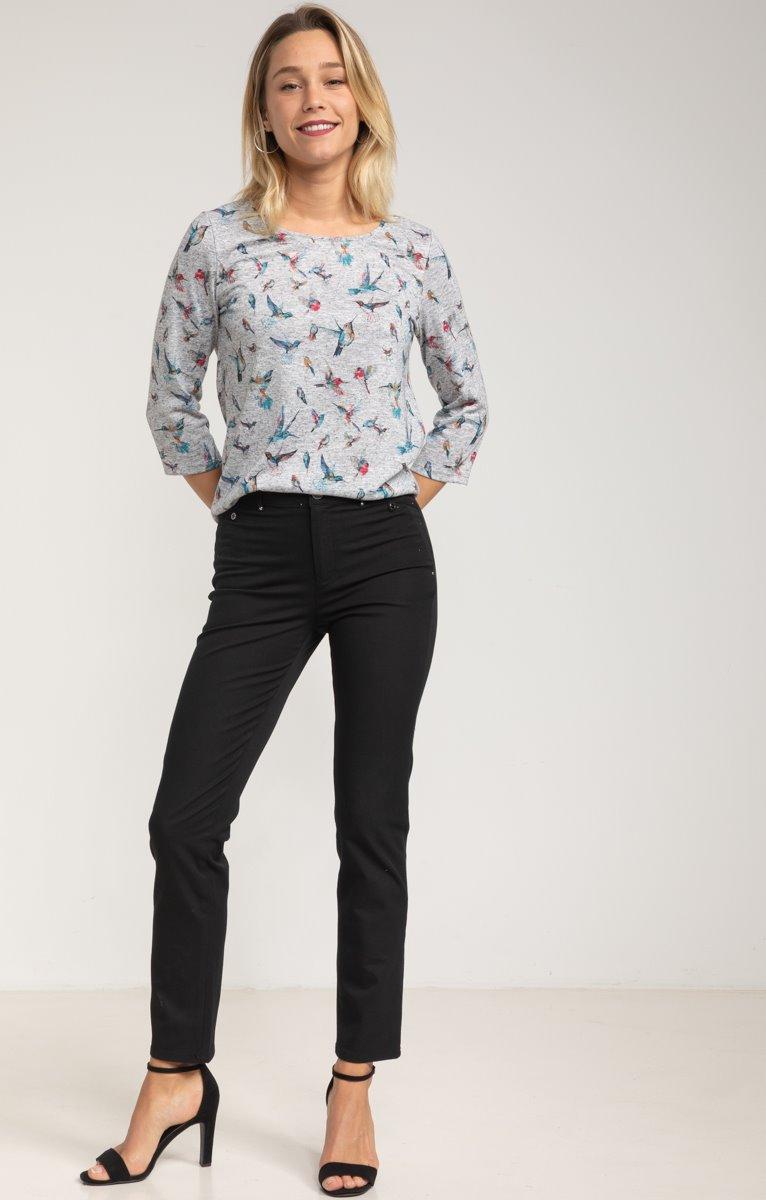 Pantalon Casual Chic
