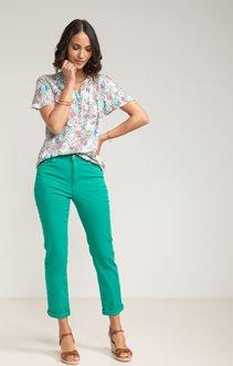 Pantalon chino détail poche