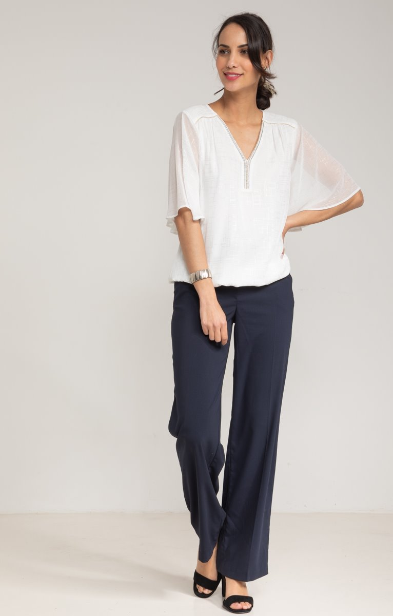 PANTALON 7/8 LARGE CEREMONIE