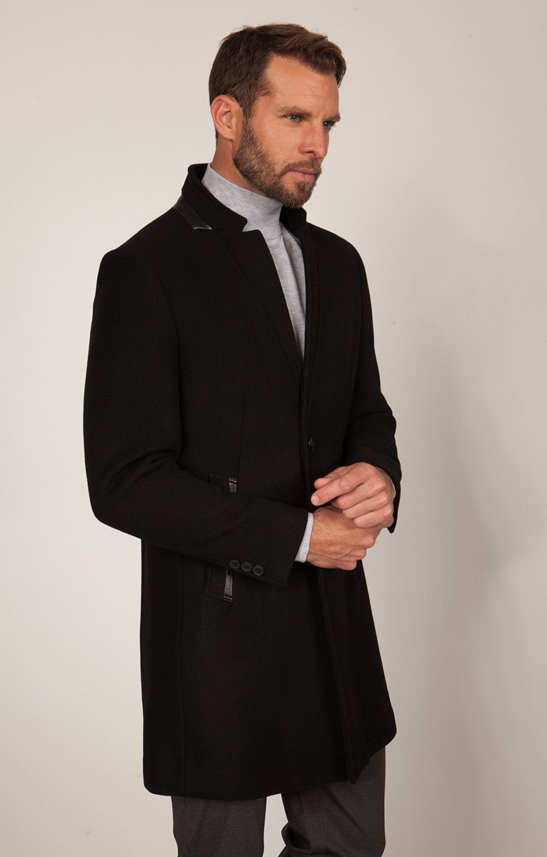 Manteau Mi-Long Ecoblaco