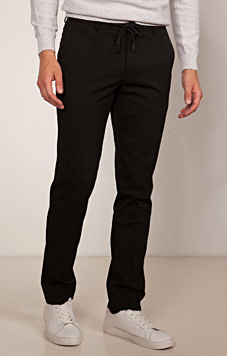 Pantalon de Costume Slim Elastico