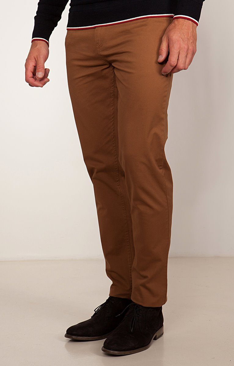 Pantalon 5 poches ajusté