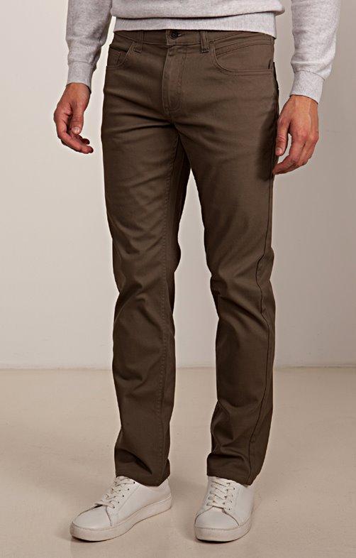 Pantalon 5 poches régular Toffee