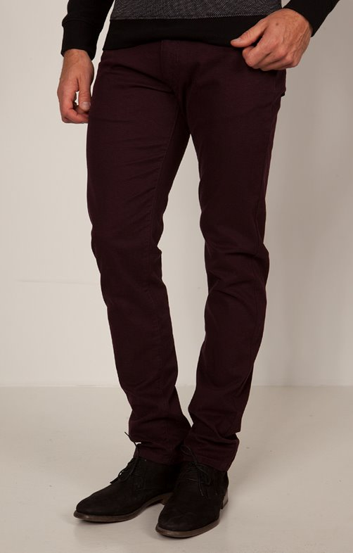 Pantalon 5 poches ajusté Fancy
