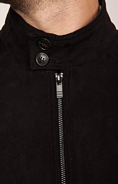 Veste jean noir missguided