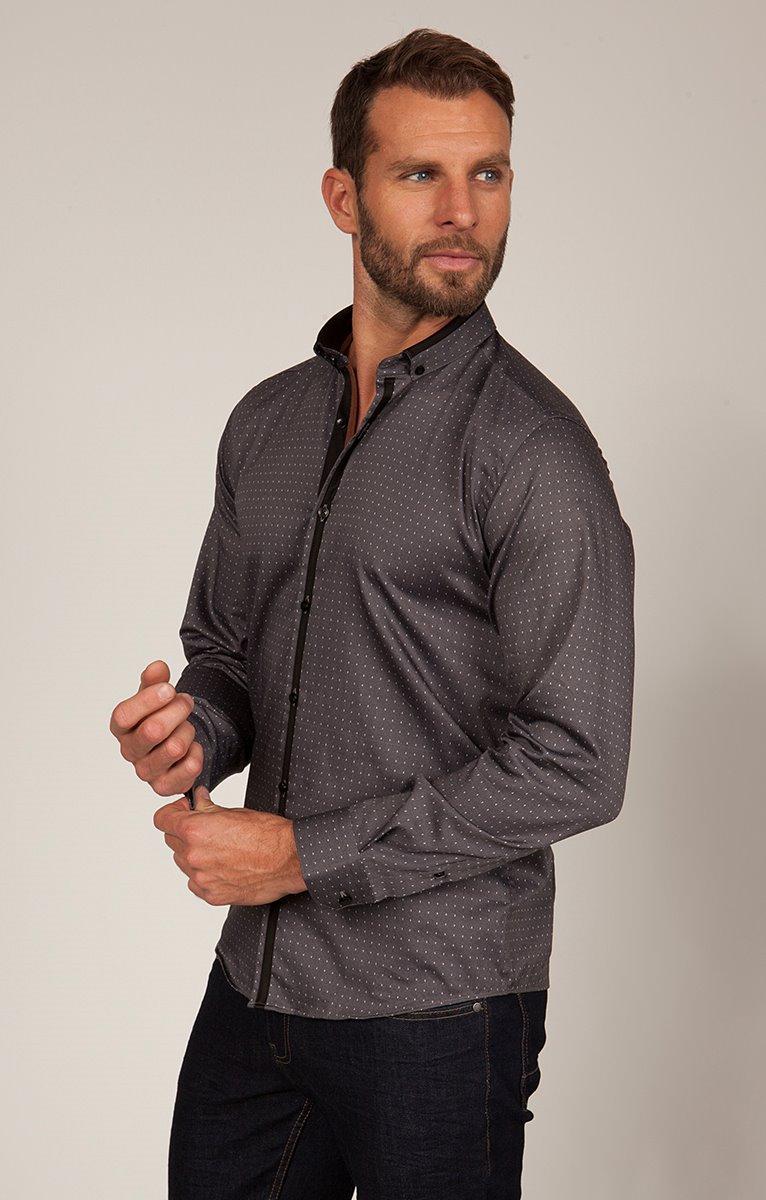 chemise coton manche longue imprimé