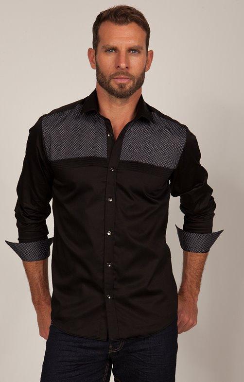 chemise manche longue imprimé