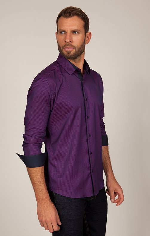chemise manches longues imprimée