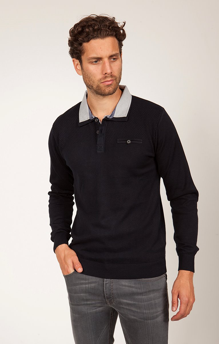 PULL UNI DOUBLE COL POLO
