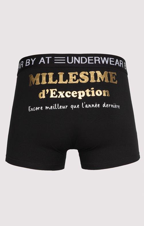 Boxer à message humoristique