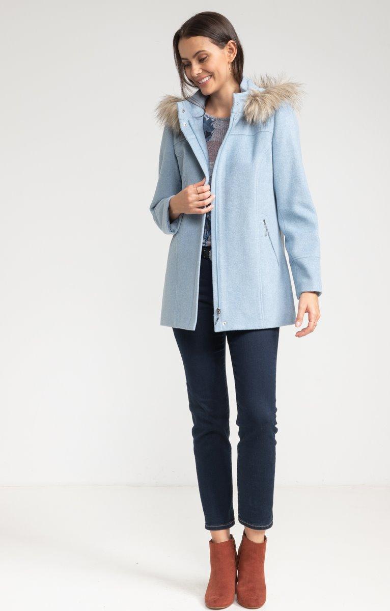 Manteau lainage italien