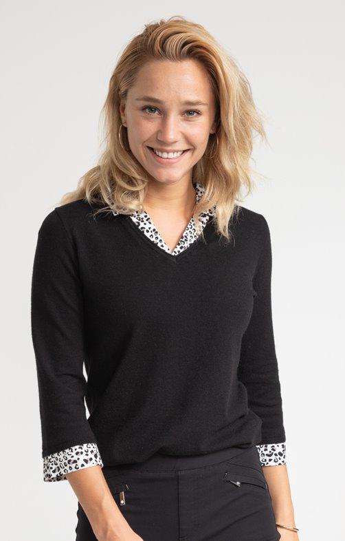 Veste laine femme style marin
