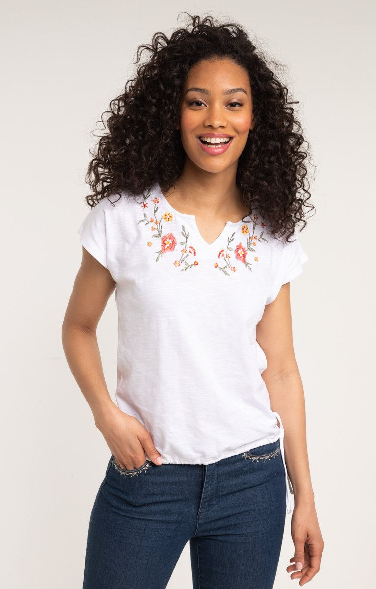 tee shirt manches courtes col rond