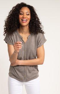 tee shirt manches courtes uni