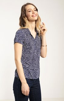 tee-shirt col chemise