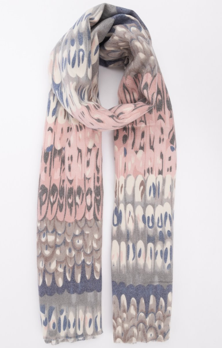 foulard imprimé chaud