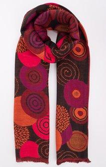 Echarpe jacquard multicolore