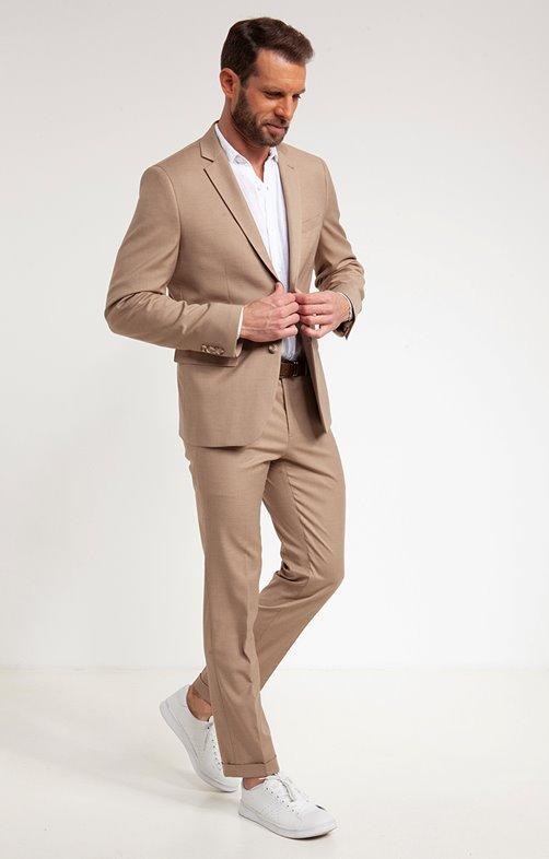 Veste de costume ajustée SAFARI