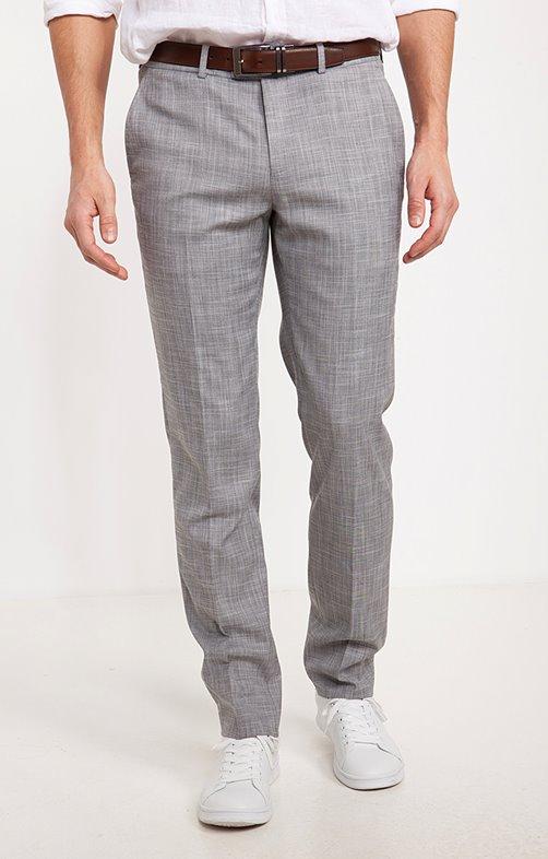 Pantalon de costume ajusté QUADRO