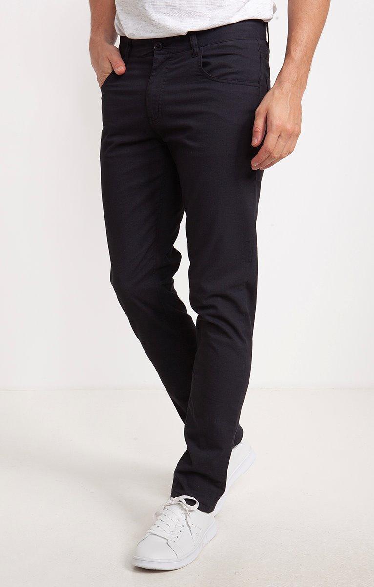 Pantalon 5 poches Rayures