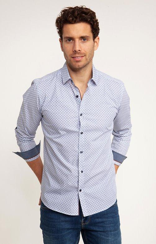 Chemise Casual à coudières