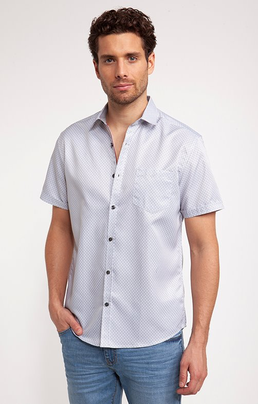 Chemise Casual tissu 100% recyclé