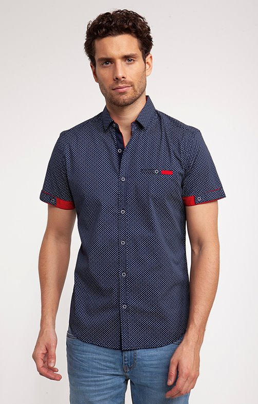 Chemise motif campo