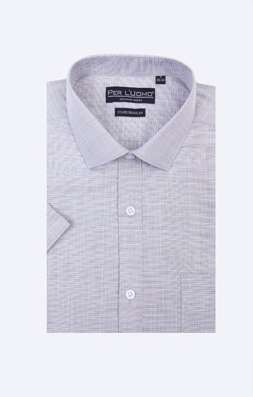 Chemise fil à fil