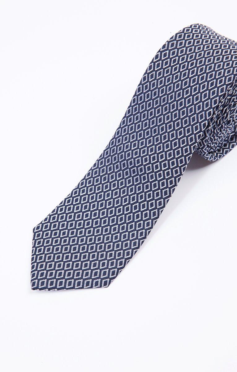 cravate en soie losanges