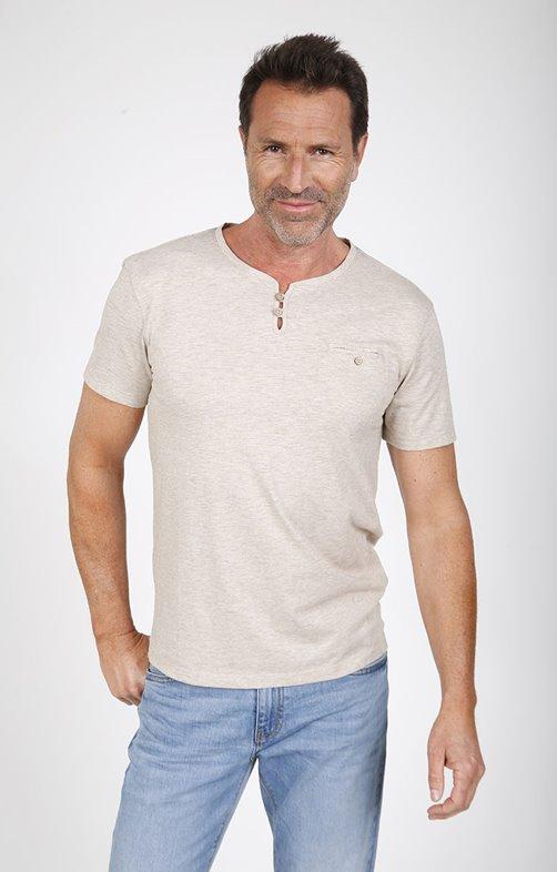Tee-shirt manches courtes loop