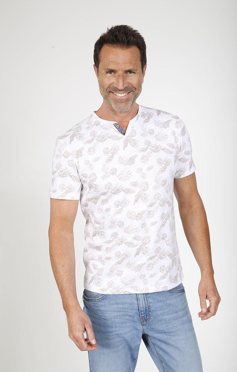 Tee shirt manches courtes jungle