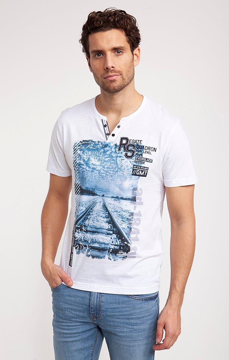 Tee-shirt manches courtes rail