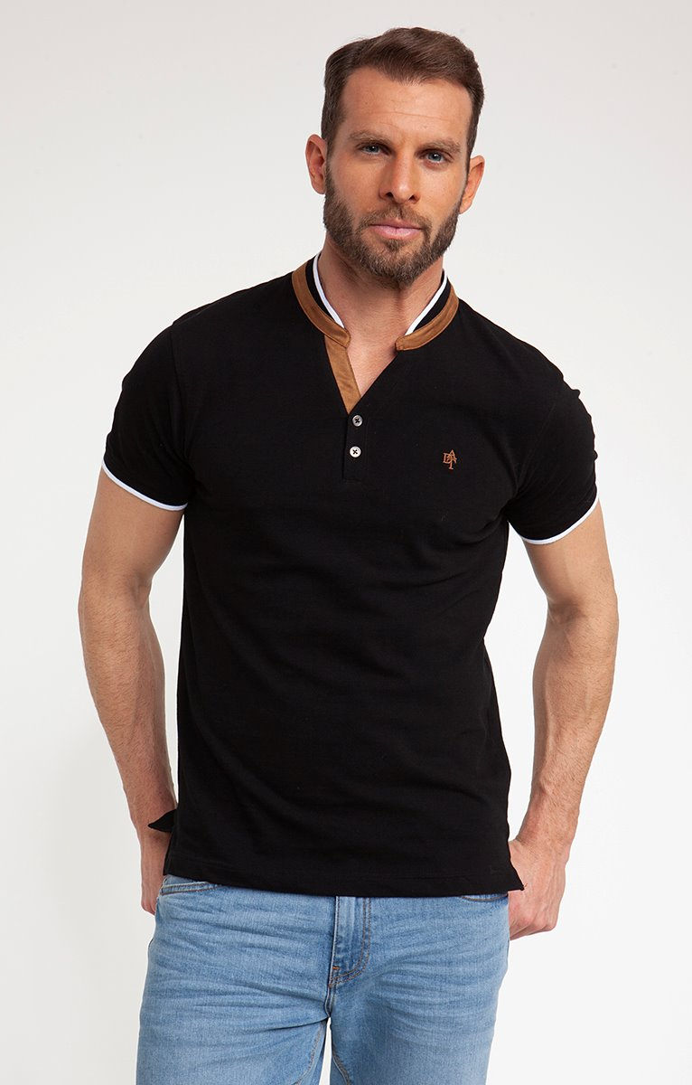 Tee-shirt manches courtes camel