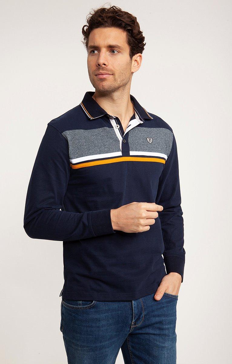 Polo manches longues sailor