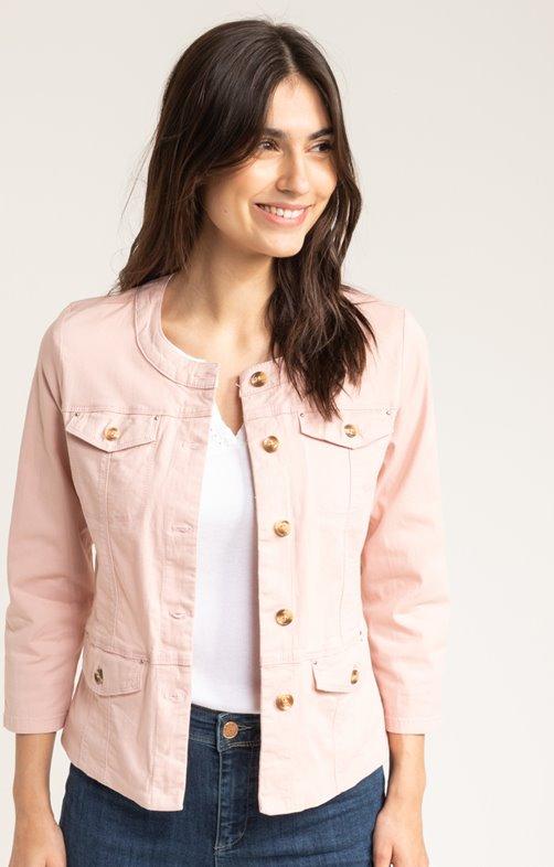 veste avec boutons