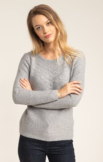 PULL MANCHES LONGUES COL ROND
