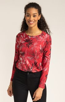 TEE SHIRT MANCHES 3/4 COL ROND