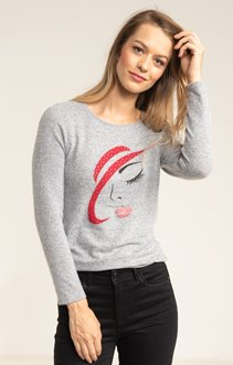 TEE SHIRT MANCHES LONGUES COL ROND