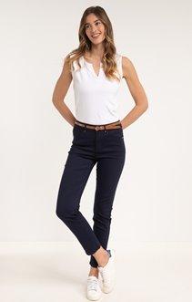 pantalon 7/8ème avec ceinture