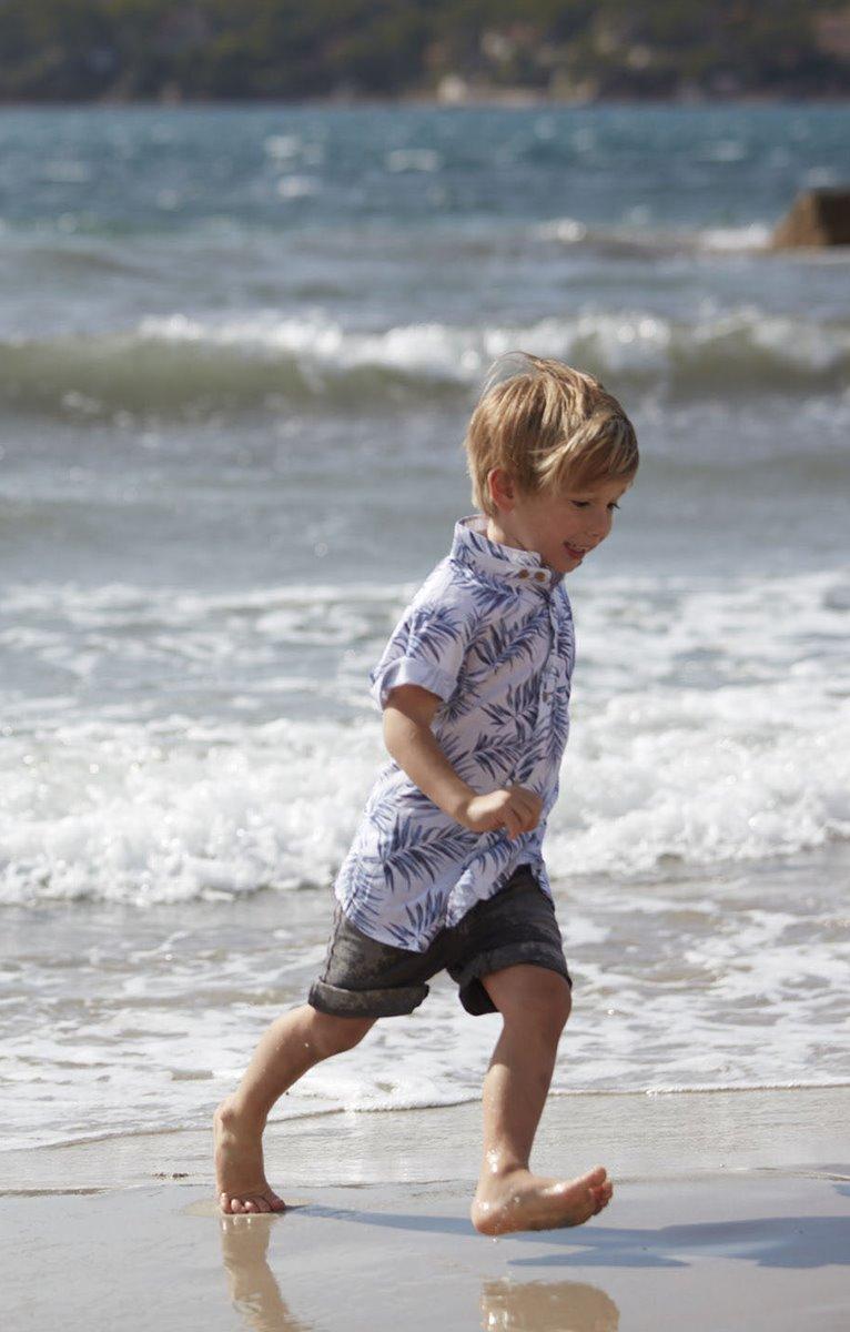 chemise enfant manches courtes