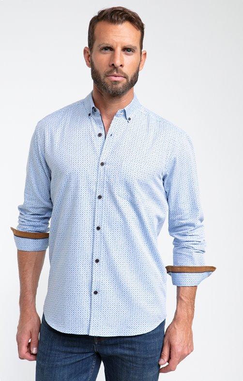 Chemise flanelle à petit motif