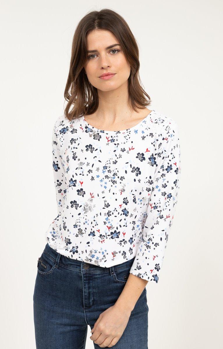 tee shirt manches 3/4
