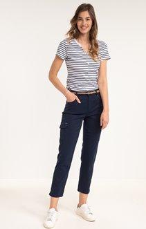 Pantalon avec poches cargo en Tencel