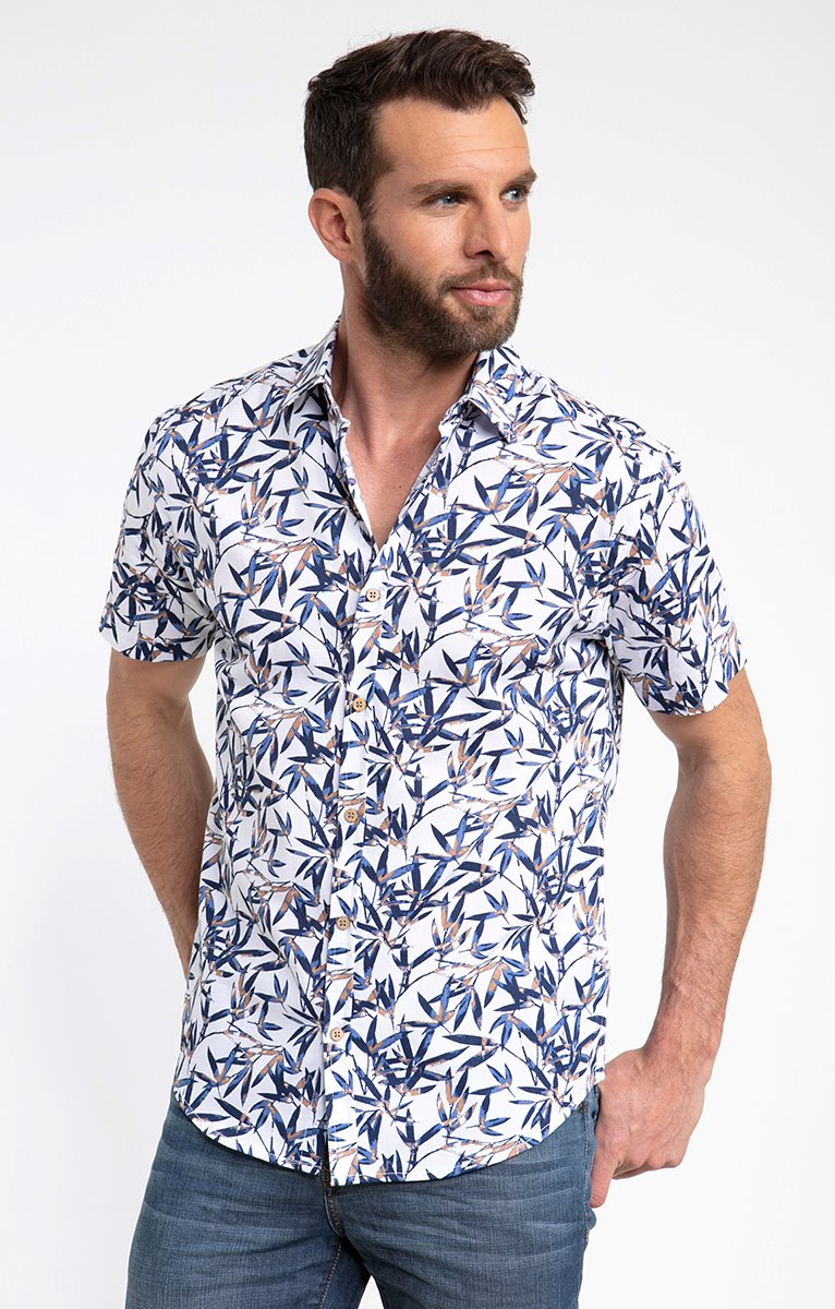 Chemise motif Bamboo Cam