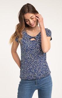 tee shirt manches courtes imprimé