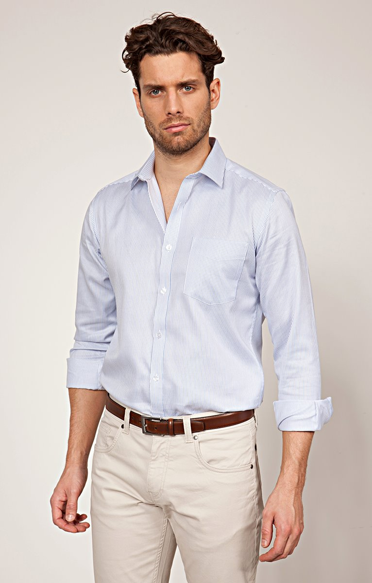 CHEMISE MANCHES LONGUES RAYURES